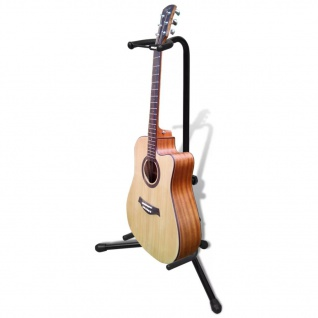 Einstellbare Einzelgitarrenständer Faltbar Instrument-Rack