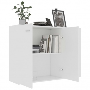 vidaXL Sideboard Weiß 105 x 30 x 75 cm Spanplatte - Vorschau 4