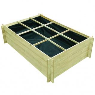 vidaXL Hochbeet 150x100x40 cm Imprägniertes Holz