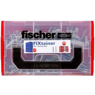 Fischer SX Dübel & Schrauben-Set FIXtainer 210 Stk. - Vorschau 4