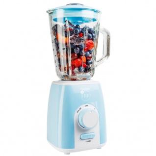 Bestron Standmixer 1, 5 L 1000 W Blau ABL300EVB
