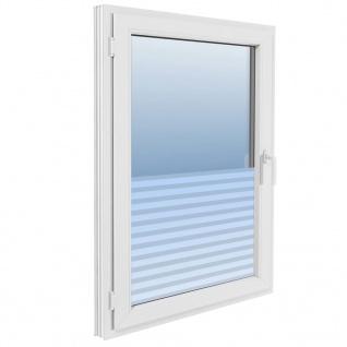 vidaXL Fensterfolie Sichtschutzfolie Streifen Selbstklebend 0, 9x100 m - Vorschau 5