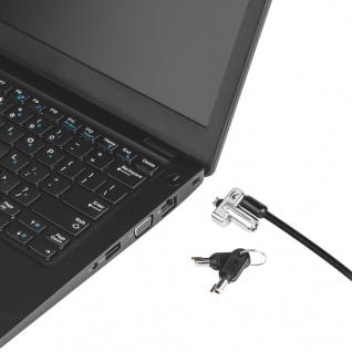 Kensington Laptopschloss mit Schlüssel N17 - Vorschau 4