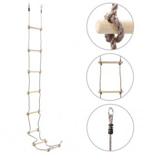vidaXL Kinder-Strickleiter 290 cm Holz