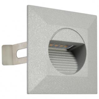 vidaXL Außenwandleuchten 6 Stk. LED 5 W Silbern Quadratisch - Vorschau 3