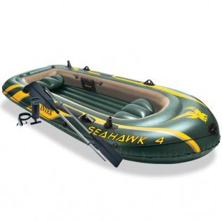 Intex Seahawk 4 Schlauchboot-Set mit Rudern und Pumpe 68351NP