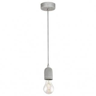 EGLO Pendelleuchte Silvares 1 Lampe Grau