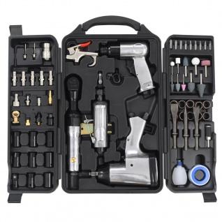 vidaXL 70-tlg. Druckluftwerkzeug-Set