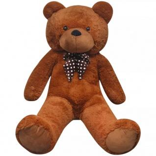 XXL Weicher Plüsch-Teddybär Braun 100 cm - Vorschau 3