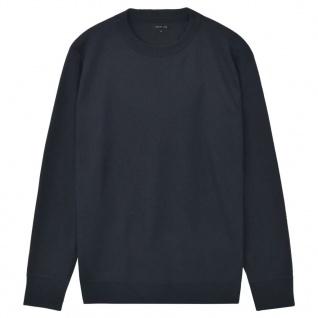 vidaXL Herren Pullover Sweater Rundhals Marineblau XL