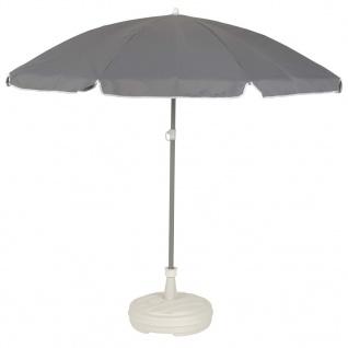 EDA Sonnenschirmständer Kunststoff Weiß - Vorschau 4