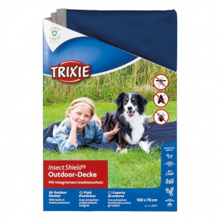 TRIXIE Outdoor Decke Insect Shield 100 x 70 cm Dunkelblau 28572 - Vorschau 2