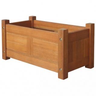 vidaXL Garten-Hochbeet Akazienholz 50x25x25 cm