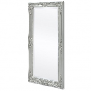 vidaXL Wandspiegel im Barock-Stil 100x50 cm Silber