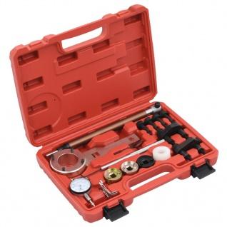 vidaXL 18-tlg. Motoreinstellwerkzeug-Set für VAG 1.8/2.0 TFSI