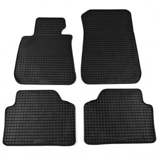 vidaXL Auto-Fußmatten-Set 4-tlg. für BMW 3er-Reihe (E90)