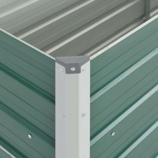 vidaXL Gartenpflanzen Verzinkter Stahl 100x40x45 cm Grün - Vorschau 3