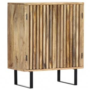 vidaXL Sideboard 60 x 35 x 75 cm Mango-Massivholz