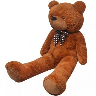 XXL Weicher Plüsch-Teddybär Braun 100 cm - Vorschau 1