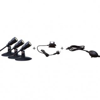 HEISSNER Starter-Strahler-Set 3 Stk. 1 W