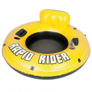 Bestway Rapid Rider Aufblasbarer Wasser Schwimmring für 1 Person 43116