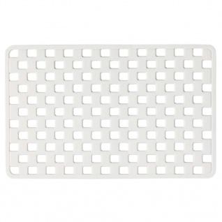 Sealskin Antirutschmatte Badewannenmatte Doby 75 x 38cm Weiß 312005210