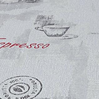 vidaXL Tapetenrollen Vlies 2 Stk. Weiß 0, 53×10 m Kaffee - Vorschau 3