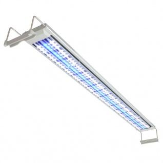 vidaXL Aquarium LED-Lampe 120-130 cm Aluminium IP67