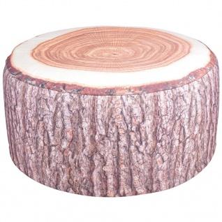 Esschert Design Outdoor Aufblasbares Sitzkissen Baumstamm BK014