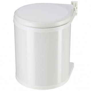 Hailo Schrank-Mülleimer Compact-Box Weiß 15 L Größe M 3555-001