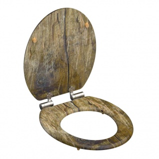 SCHÜTTE Toilettensitz Solid Wood MDF Braun