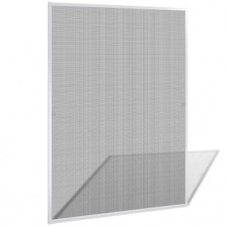 Insektengitter für Fenster 130 x 150 cm weiß