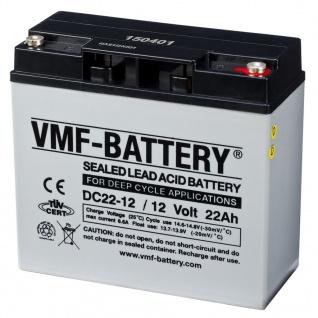 VMF AGM Deep Cycle Batterie 12 V 22 Ah DC22-12