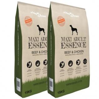 vidaXL Premium-Trockenhundefutter Maxi Adult Essence Beef & Chicken 2 x 15 Kg - Vorschau 1