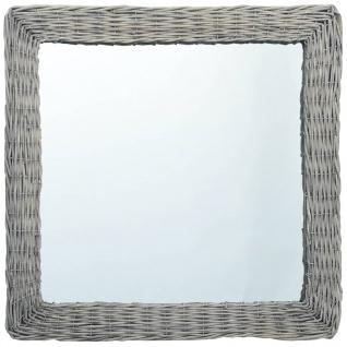 vidaXL Spiegel 60x60 cm Weide