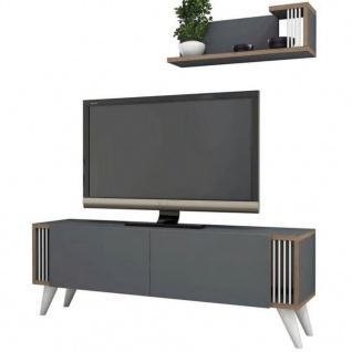 Homemania TV-Schrank Nicol 120x31x42 cm Anthrazit - Vorschau 5
