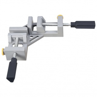 vidaXL Winkelklemme mit 2 Spindel 95 mm Aluminium