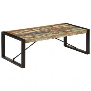 vidaXL Couchtisch 120 x 60 x 40 cm Recyceltes Massivholz