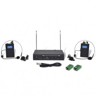 Receiver mit 2 Drahtlosen Headsets VHF