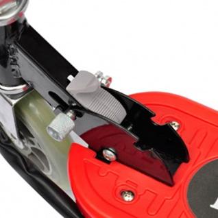 vidaXL Elektroroller klappbar 120 W Rot - Vorschau 4
