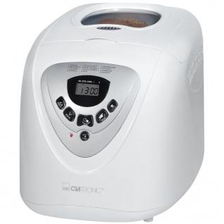Clatronic Brotbackautomat 600 W Weiß BBA 3505