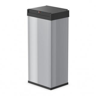 Hailo Abfallbehälter Big-Box Swing Größe XL 52 L Silber 0860-221