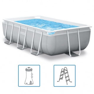 Intex Swimmingpool-Set Prism Frame Rechteckig 300 x 175 x 80 cm