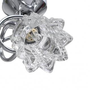 vidaXL Deckenleuchte mit Glas-Lampenschirmen für 4 G9 Leuchtmittel - Vorschau 5