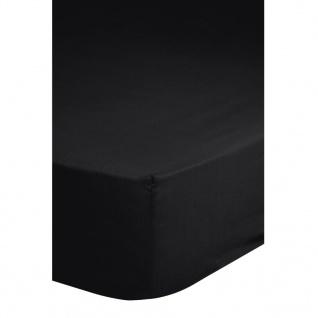 Emotion Bügelfreies Spannbettlaken 180x220 cm Schwarz 0220.04.47
