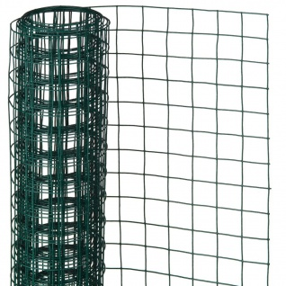 Nature Maschendraht Quadrat 1x5m 13mm Kunststoffbeschichteter Stahl