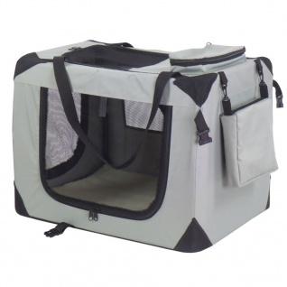 @Pet Haustier-Transporttasche Nylon 70 x 52 x 50 cm Grau 11072
