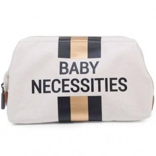 CHILDHOME Kulturbeutel Baby Necessities Cremeweiß