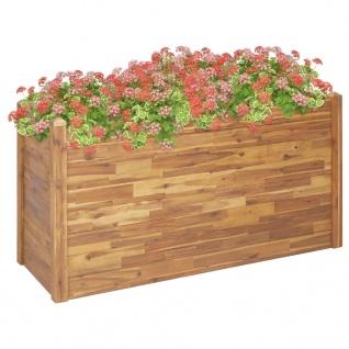vidaXL Garten-Hochbeet 160 x 60 x 84 cm Massivholz Akazie