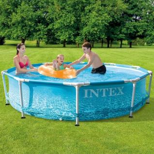 Intex Beachside Metal Frame Pool 305x76 cm
